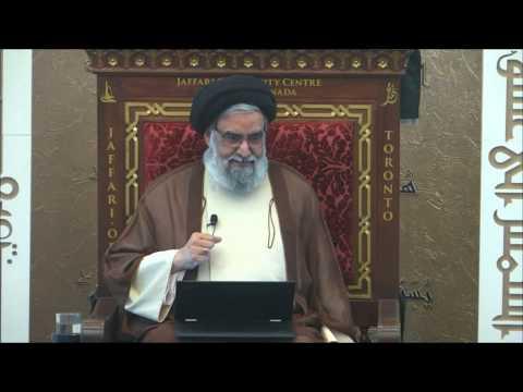 Theory Of Evolution & Islam; What Is Intelligent Design? - Maulana Syed Muhammad Rizvi