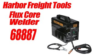 Harbor Freight Fluxed Core Welder 68887