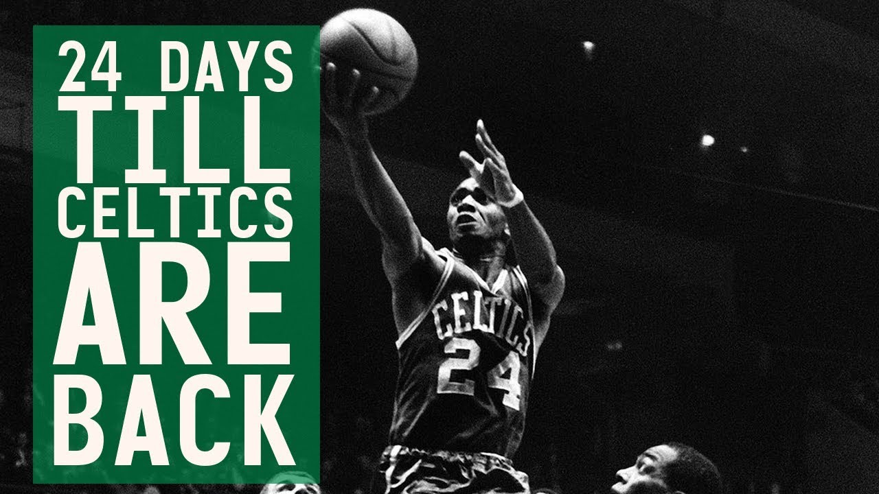 reputable site 579b5 8a200 24 days till Celtics are back: #24 Sam Jones ties the 1969 finals with a  game-winner in G4!