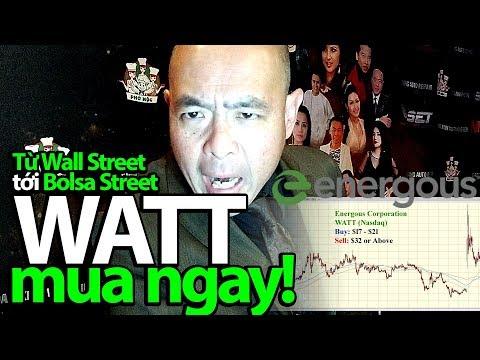 Từ Wall Street đến Bolsa Street: Energous  WATT, sạc điện không dây