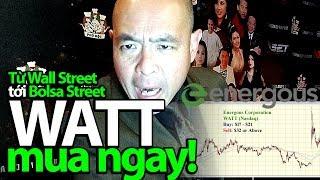 Từ Wall Street đến Bolsa Street: Energous - WATT, sạc điện không dây