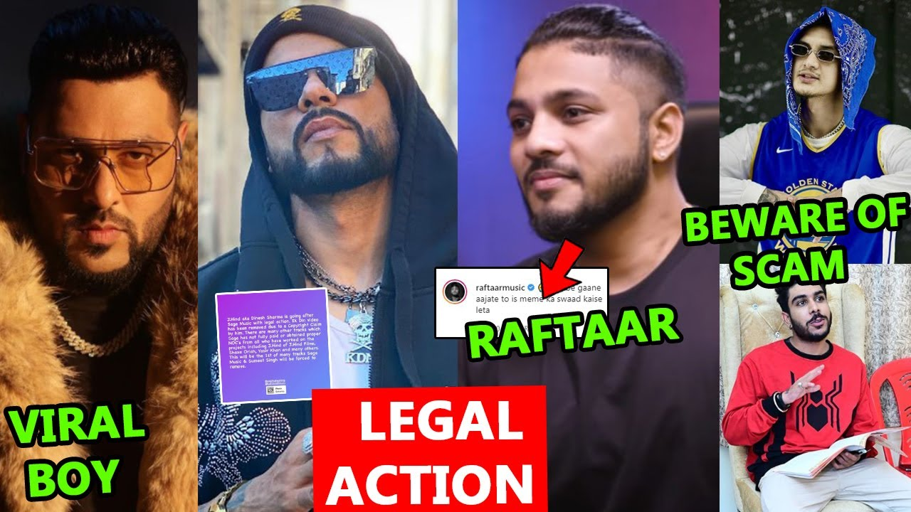 RAFTAAR'S COMMENT ON ? | LEGAL ACTION | BADSHAH COLLAB WITH VIRAL BOY | MUHFAAD | SIKANDER