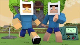 Minecraft: HORA DE AVENTURA NO MINECRAFT (Esconde-Esconde)