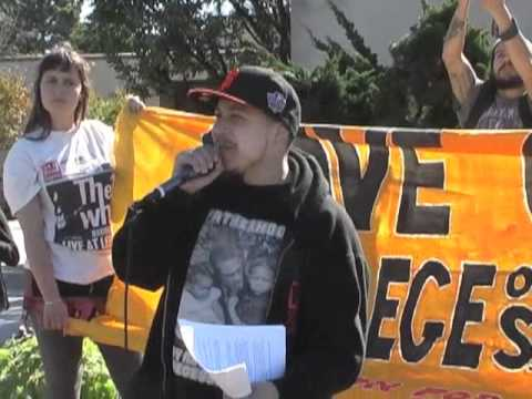 Students At CCSF March, Rally And Occupy Administration Building To STOP Cutbacks & Privatization