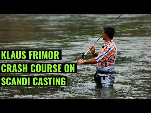 Klaus Frimor's Crash Course On Scandi Casting - Trout Spey Clave