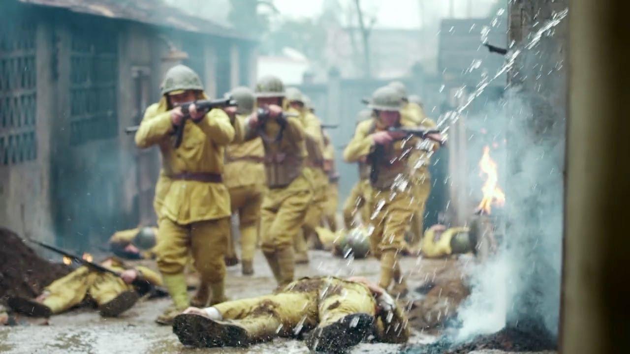 日軍瘋狂追捕4個特種兵,誰知對方提前布下大量炸彈,只等他們踏入陷阱!