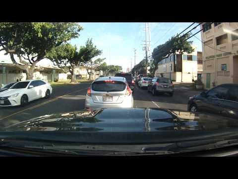 Hawaii Driving - Nimitz Highway Airport to Honolulu Hale