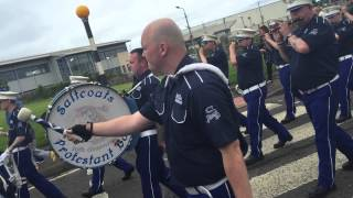 Saltcoats Protestant Boyd 10th Anniversary parade .. We're coming 2015