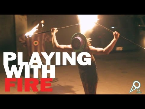 Playing With Fire (Flow Art Firedance)