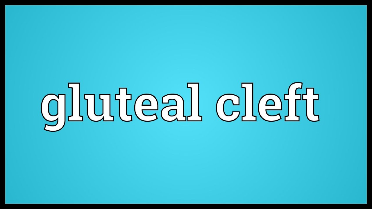 Gluteal Cleft Meaning Youtube