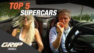 TOP 5 Supercars - Mehr Carporn geht nicht! I GRIP Originals