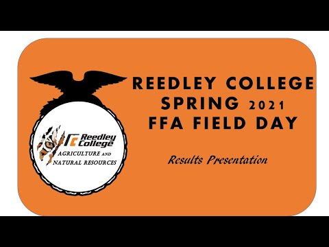Reedley College 2021 Spring Field Day Results