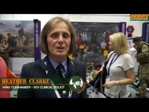 DSEI 2015 Day 2 defence medical services area DSEI 2015 show daily News London UK Army Recognition