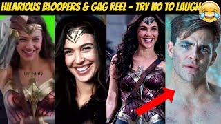 Wonder Woman Bloopers & Gag Reel Ft. Gal Gadot & Chris Pine - 2017