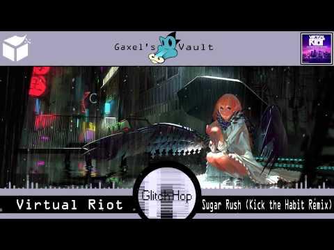 (Glitch Hop) Virtual Riot - Sugar Rush (Kick the Habit Remix) [Audiophile Live]