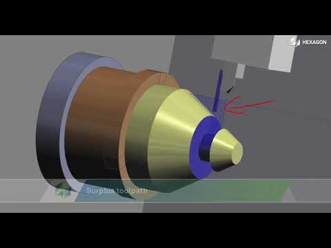 Rough Grooving Cycle - Stock Aware | EDGECAM 2022.0