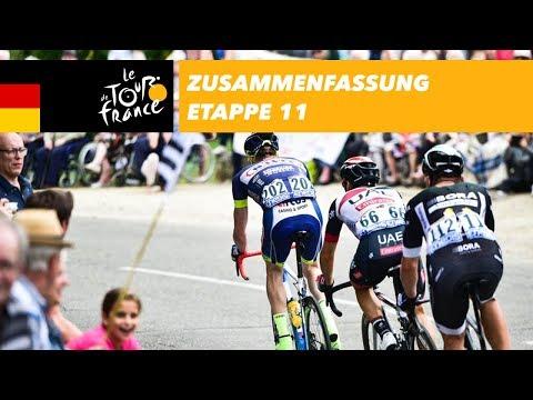 Zusammenfassung - Etappe 11 - Tour de France 2017