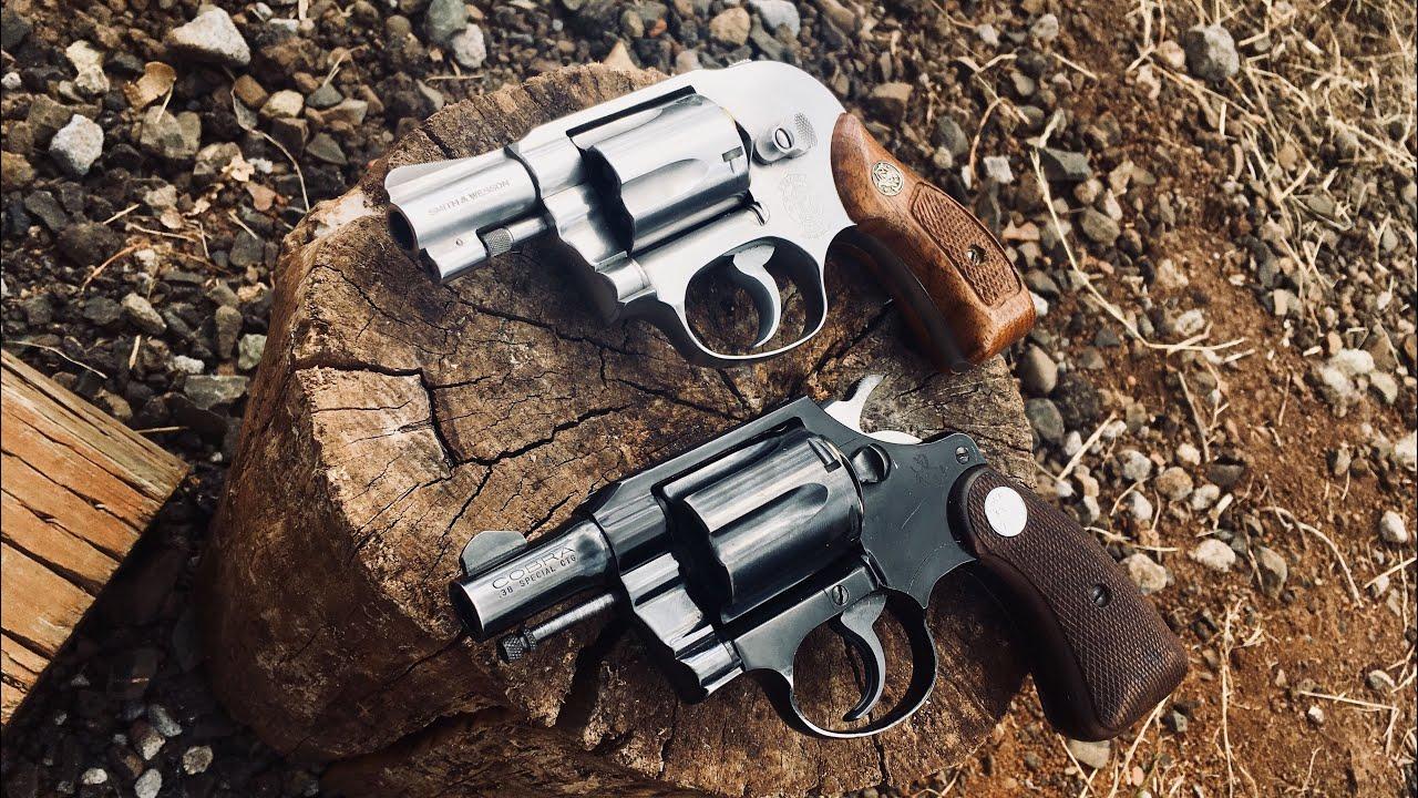 Colt Cobra vs S&W 649 Quick Look