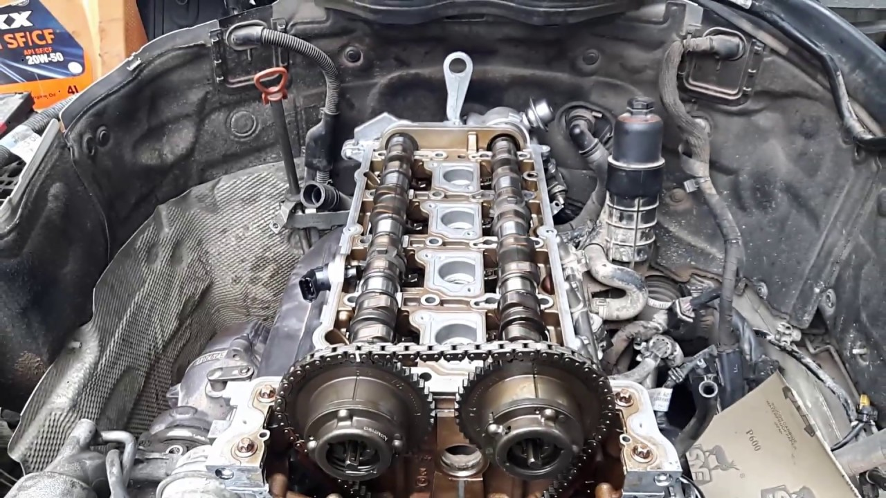 W204 M271 install timing chain