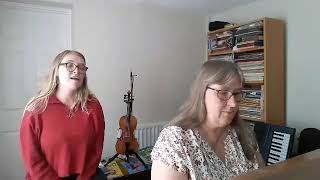 Alison & Bronwen, I guess that's why they call it the Blues - Make Music Day 2020, Worcestershire