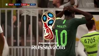 NIGERIA VS GERMANY WORLD CUP 2018 (NAIJA DREAM)