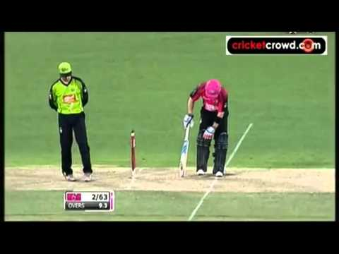 Brad Haddin challenge Chris Gayle to get him out