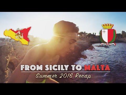From Sicily to Malta - Summer 2016 Recap