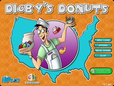 ↓FALLING DONUTS!!!   Digby's Donuts Gameplay