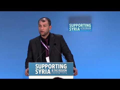 Raed Al Saleh, Head of the Syria Civil Defence (The White Helmets)