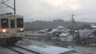 JR飯田線 大沢信号場-七久保 119系 JR Iida line