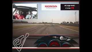 2015 Honda Civic Type R @ Slovakia Ring