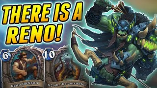 This Hunter can ease your Pain | Wild Reno Hunter | Hearthstone Rise of Shadows