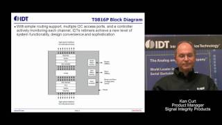 IDT PCIe 3.0 Retimers for High-Speed 8Gbps Signal Conditioning