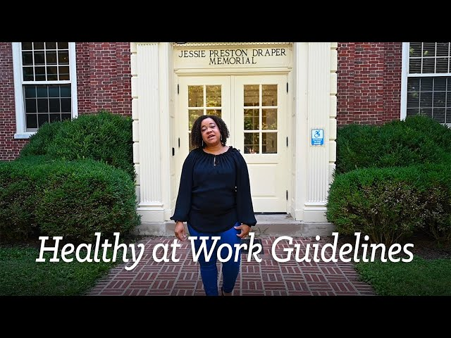 Berea College Healthy at Work Guidelines
