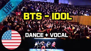 Download [Kpop In Public Challenge] BTS - IDOL Dance & Vocal Cover 미국대학 입학처 주관 초청 공연 Mp3
