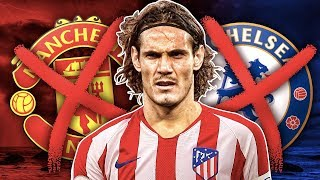 Edinson Cavani Set To REJECT Chelsea & Manchester United For PSG Stay ?! | Transfer Review