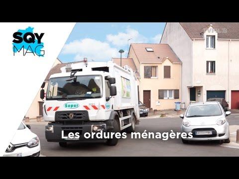 SQY Mag – Les ordures ménagères