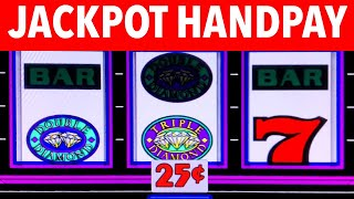 HIGH LIMIT ** MASSIVE **FREE GAMES** JACKPOT HANDPAY ★ TRIPLE DOUBLE DIAMOND ➜ SLOT MACHINE PLAY