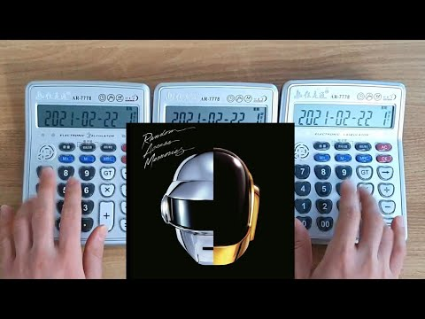 Daft Punk – Get Lucky (Calculator Cover)