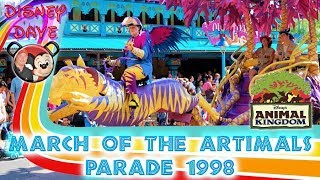 March of the ARTimals Debut Parade at Disneys Animal Kingdom