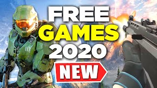 *NEW* FREE Games to Play RIGHT NOW! (and the future) (Free Games of 2020)