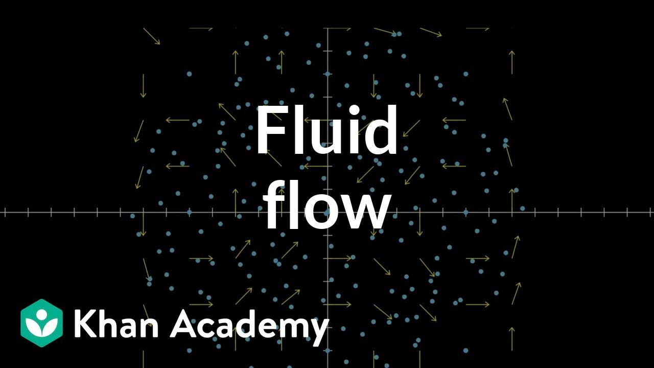 Fluid flow and vector fields (video) | Khan Academy