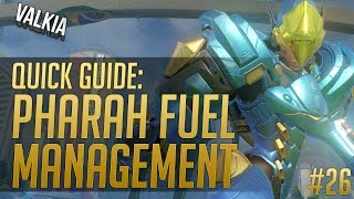 Quick Guide: Pharah Fuel Management || Overwatch tips & tricks EP#26