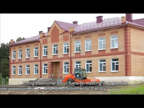 School in Siberia powered by a Danfoss heat pump