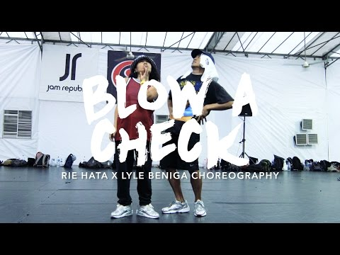 Blow A Check - Zoey Dollaz | Rie Hata x Lyle Beniga Choreography | Summer Jam Dance Camp 2016