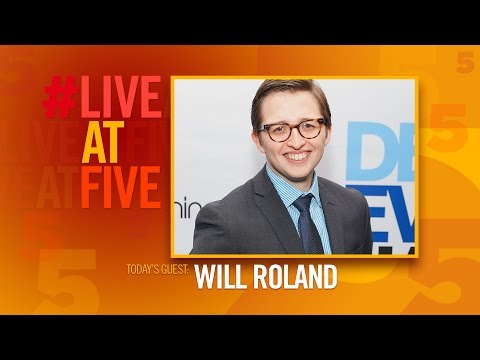 Broadway.com #LiveatFive with Will Roland of DEAR EVAN HANSE