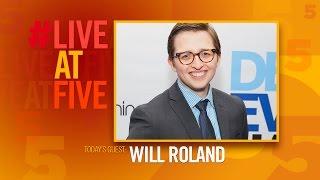 Broadway.com #LiveatFive with Will Roland of DEAR EVAN HANSEN