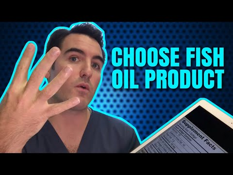 How To Choose Fish Oil Products Wisely