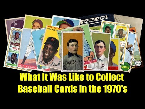 What It Was Like To Collect Baseball Cards In The 1970s