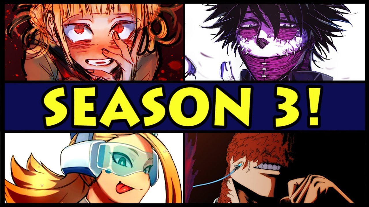 every season 3 character explained my hero academia boku no hero academia new s3 characters. Black Bedroom Furniture Sets. Home Design Ideas
